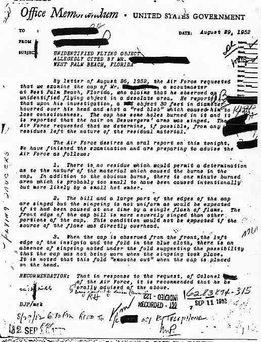 (1952) FBI un chef scout de Palm Beach Floride observe un Ovni Scout_jpg