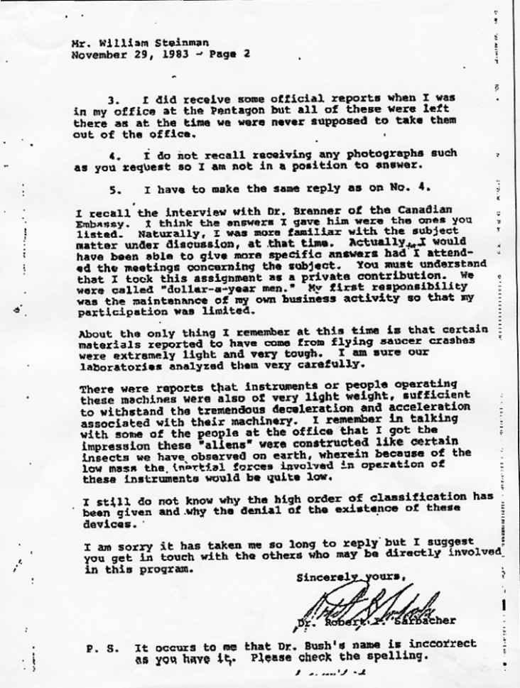 """(1950) interview du Dr Sarbacher par W.B.SMITH """"les soucoupes n'ont pas une origine terrestre"""" Sarbacher2_jpg"""
