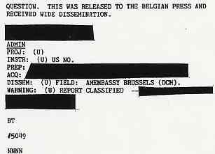 (1990) DIA document relatif aux observations de triangles en Belgique Belge4