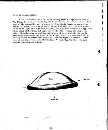 """Les Différents """"modèles types"""" de soucoupes volantes"""" Ufo6"""