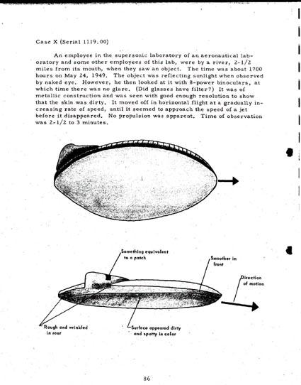 """Les Différents """"modèles types"""" de soucoupes volantes"""" Ufo8"""