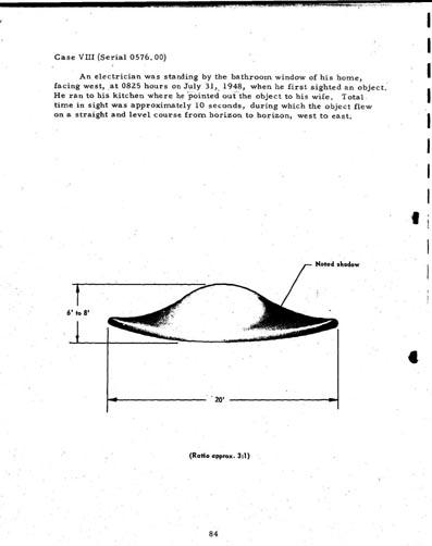 """Les Différents """"modèles types"""" de soucoupes volantes"""" Ufo8a"""