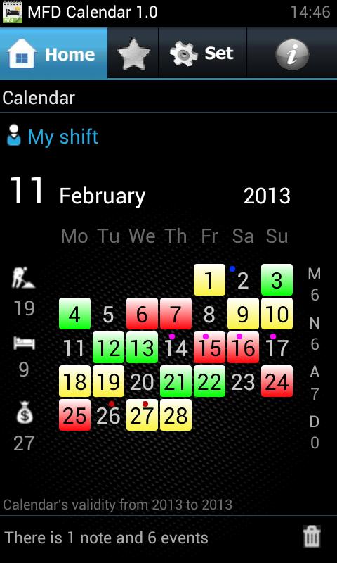 Gestire i turni di lavoro sul proprio Android - MFD Calendar  - Pagina 2 1