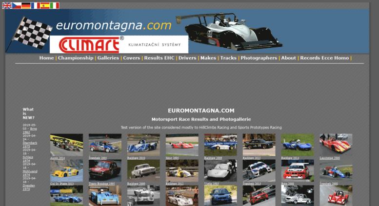 Campeonatos de Montaña Nacionales e Internacionales (FIA European Hillclimb, Berg Cup, MSA British Hillclimb, CIVM...) Euromontagna.com