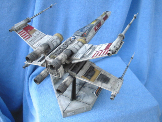 """MPC Star Wars """"X-Wing"""" Fighter 385812971"""