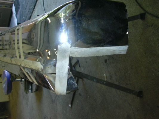 Sucking in the bumpers.  76 bu. 326889510
