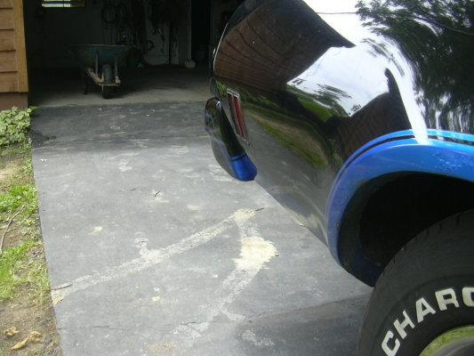 Sucking in the bumpers.  76 bu. 327657297