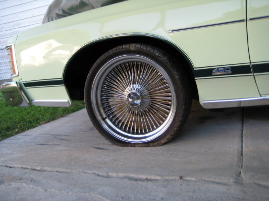 1974 malibu classic heading to Arizona 320911269