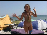 Family nudism. Naked nudists with their naked children. 1054633-thumb