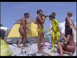 Family nudism. Naked nudists with their naked children. 1054637-thumb