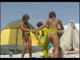 Family nudism. Naked nudists with their naked children. 1054638-thumb