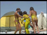 Family nudism. Naked nudists with their naked children. 1054639-thumb