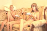 Family nudism. Naked nudists with their naked children. Happy_Birthday_Luiza! 1054728-thumb