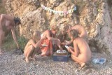 Family nudism. Naked nudists with their naked children. Happy_Birthday_Luiza! 1054741-thumb
