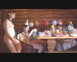 Family nudism. Naked nudists with their naked children. All Things Bare - And Beautiful 1054929-thumb
