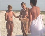 Family nudism. Naked nudists with their naked children.Dressed With A Smile 1054983-thumb