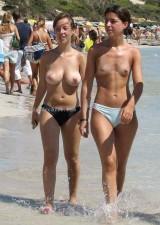 Spy young nude girls in beach 1053459-thumb