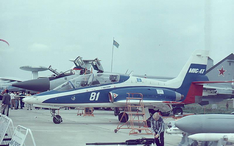 طائره التدريب الروسيه (( MiG-AT ))  Mig-at