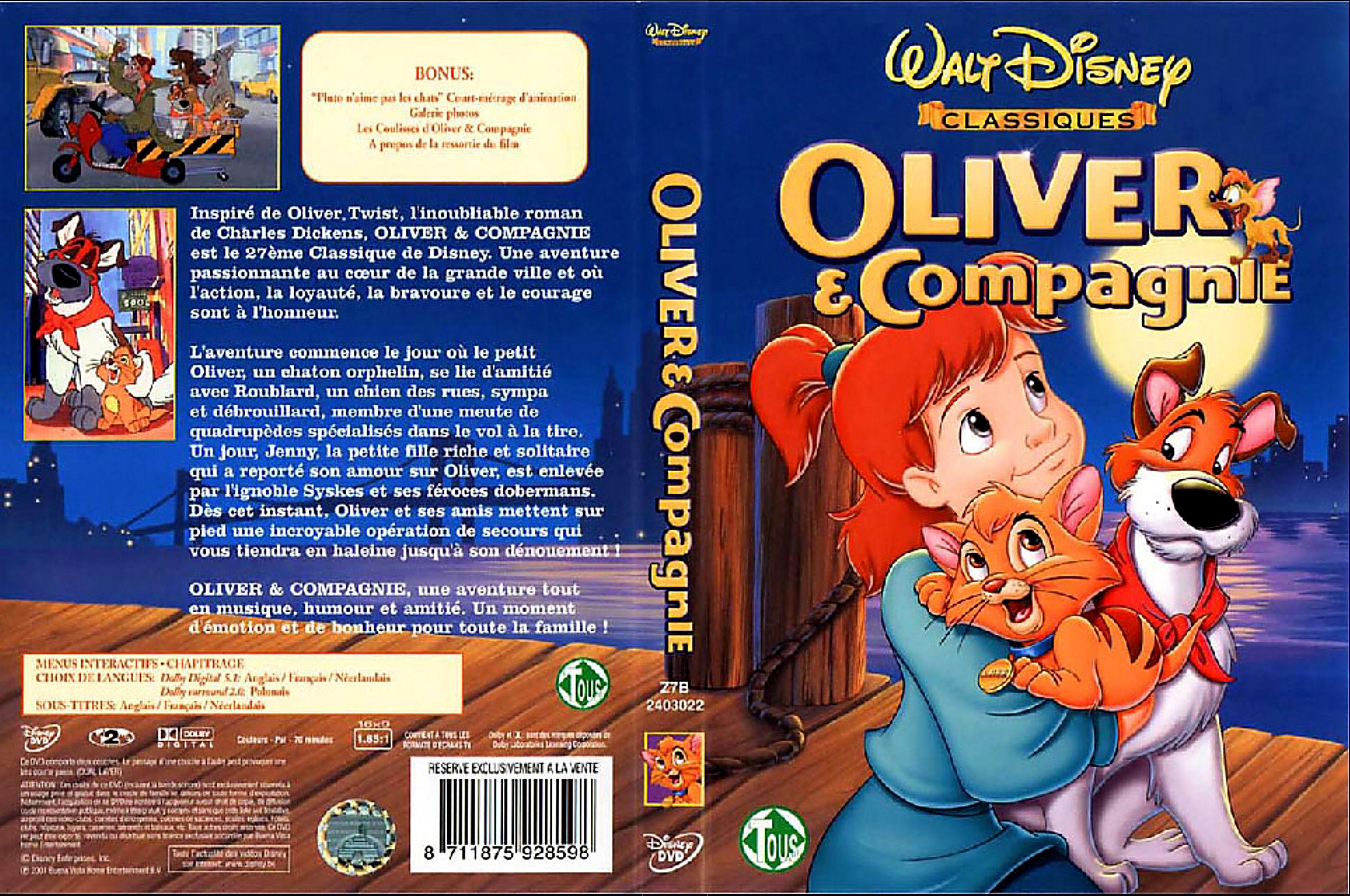Grands Classiques Disney, quelle est la liste officielle ? Oliver%20et%20compagnie