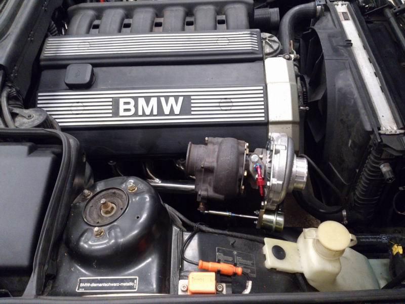 Grey - BMW E34 520 M50B25 Turbokombi. G-tech med film, sidan 5! Turboladdad