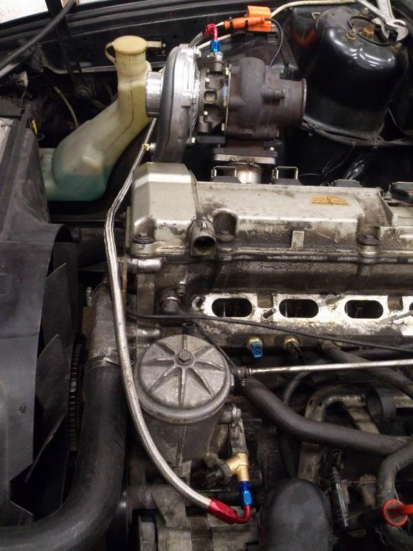 Grey - BMW E34 520 M50B25 Turbokombi. G-tech med film, sidan 5! - Sida 2 Oljetryckturbo