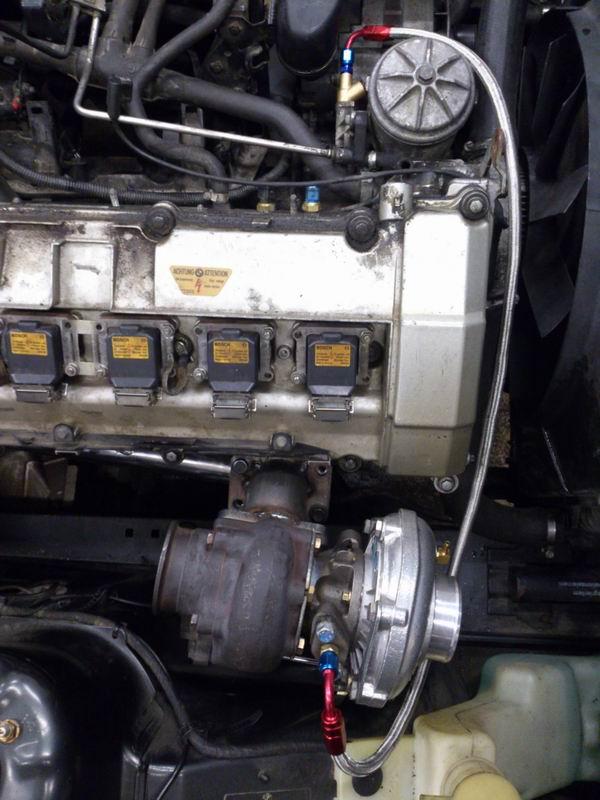 Grey - BMW E34 520 M50B25 Turbokombi. G-tech med film, sidan 5! - Sida 2 Oljetryckturbo2