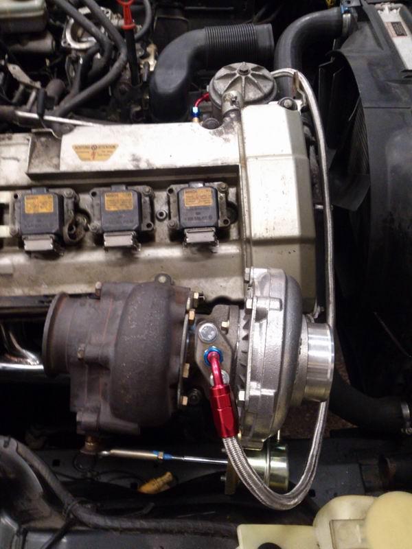 Grey - BMW E34 520 M50B25 Turbokombi. G-tech med film, sidan 5! - Sida 2 Oljetryckturbo3