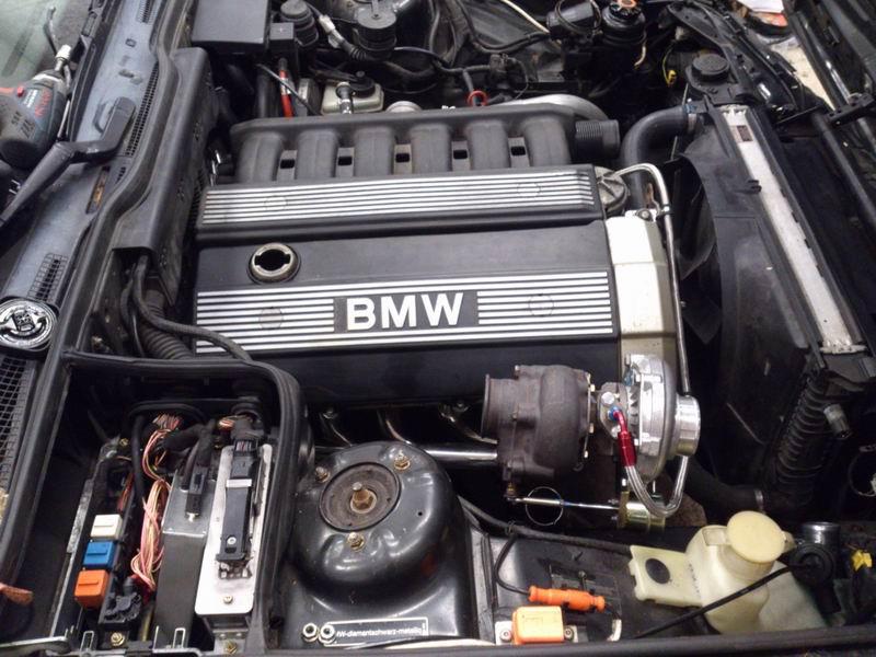Grey - BMW E34 520 M50B25 Turbokombi. G-tech med film, sidan 5! - Sida 2 Motorturboms