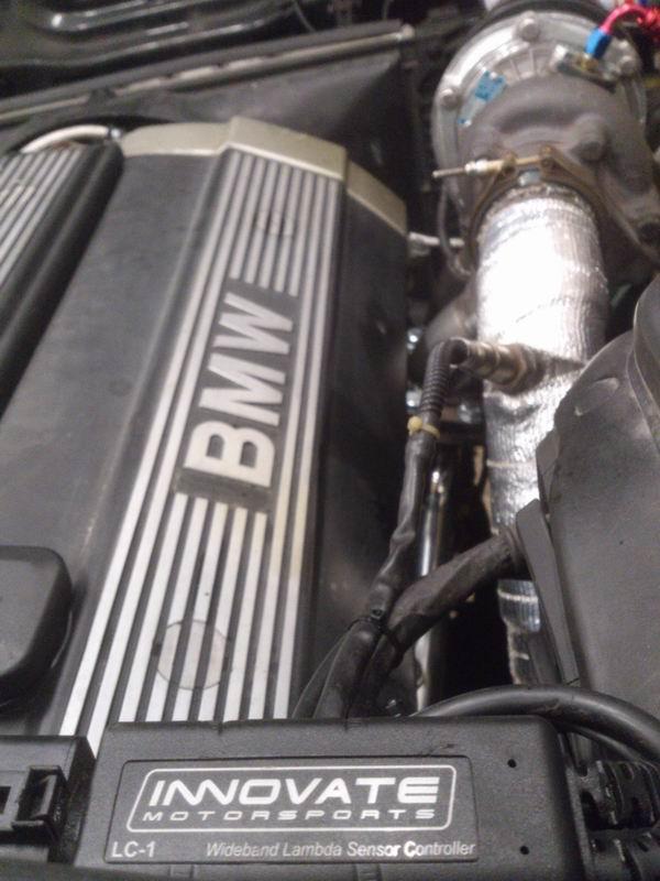 Grey - BMW E34 520 M50B25 Turbokombi. G-tech med film, sidan 5! - Sida 3 Lambda2
