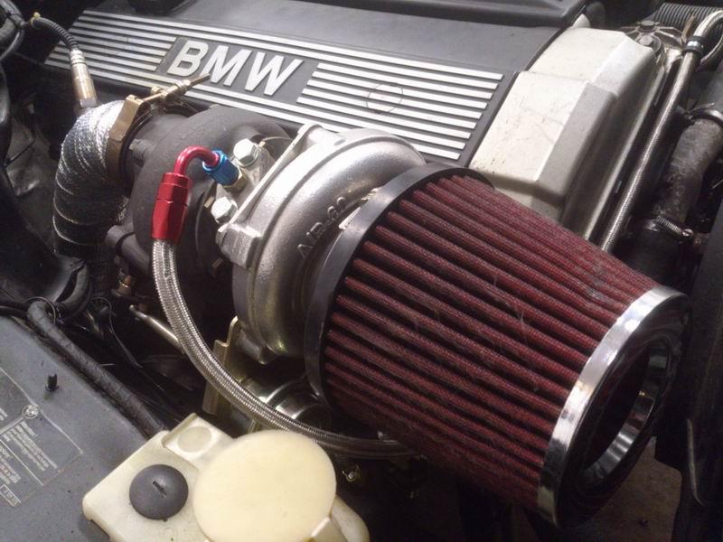 Grey - BMW E34 520 M50B25 Turbokombi. G-tech med film, sidan 5! - Sida 3 Turbofilter