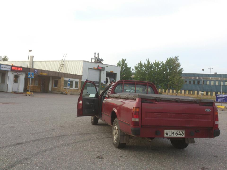 Grey - Ford P100 2.9t (Film, sid 7!) Regbesiktning
