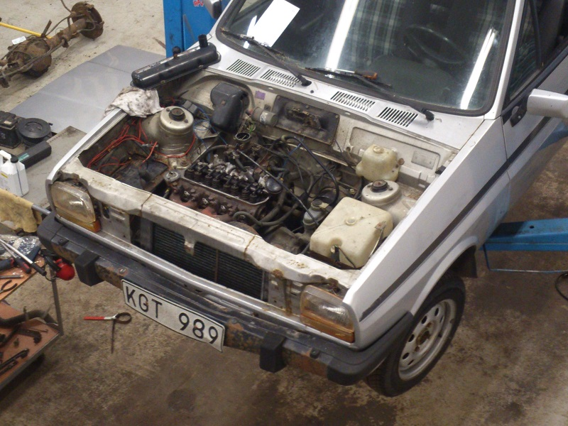 "Grey - Ford Fiesta -82 ""FIA"" going RS-Turbo. G-tech sid 10. Renovering3"