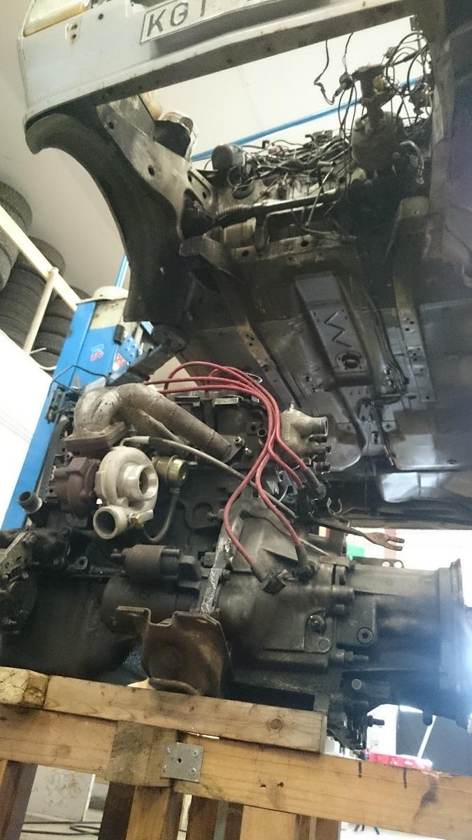 """Grey - Ford Fiesta -82 """"FIA"""" going RS-Turbo. G-tech sid 10. - Sida 6 Byte"""