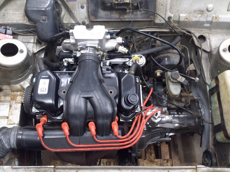 """Grey - Ford Fiesta -82 """"FIA"""" going RS-Turbo. G-tech sid 10. - Sida 3 Motor"""