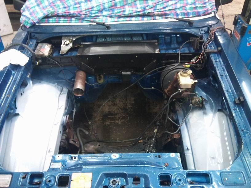 """Grey - Ford Granada """"Dunderklumpen"""" (Ny Turbo!) Grundat"""