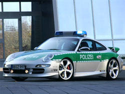 Cuidadin con los nuevos coches de la policia Polizei