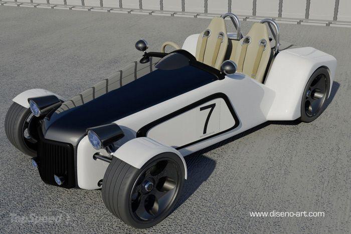 Lotus New 7 Concept  2011 2011-lotus-new-7-concept-2w