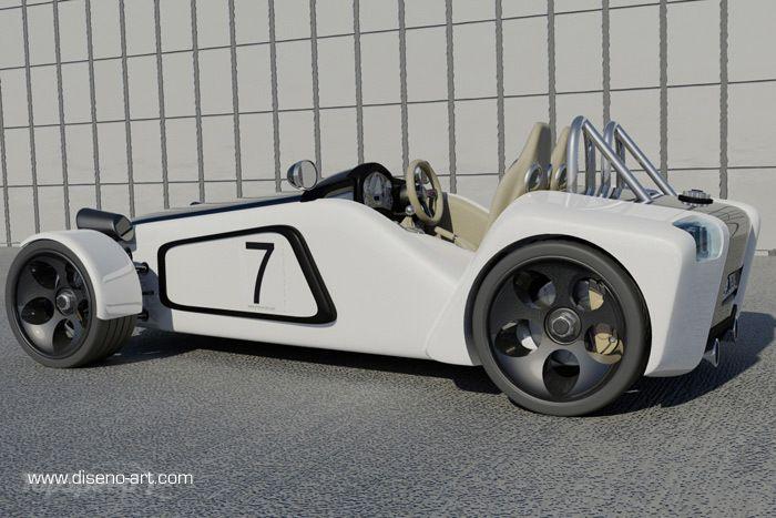 Lotus New 7 Concept  2011 2011-lotus-new-7-concept-3w