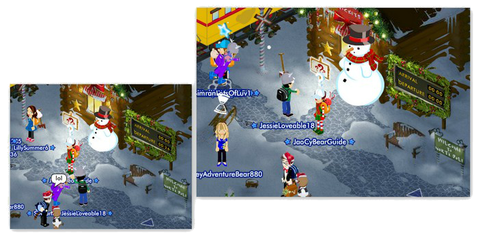 North Pole Now Open! New Games and Freebies! AEJMyPicturesLqa