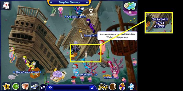 Treasure Hunt Quest (Under The Sea) VriTreasureHuU11