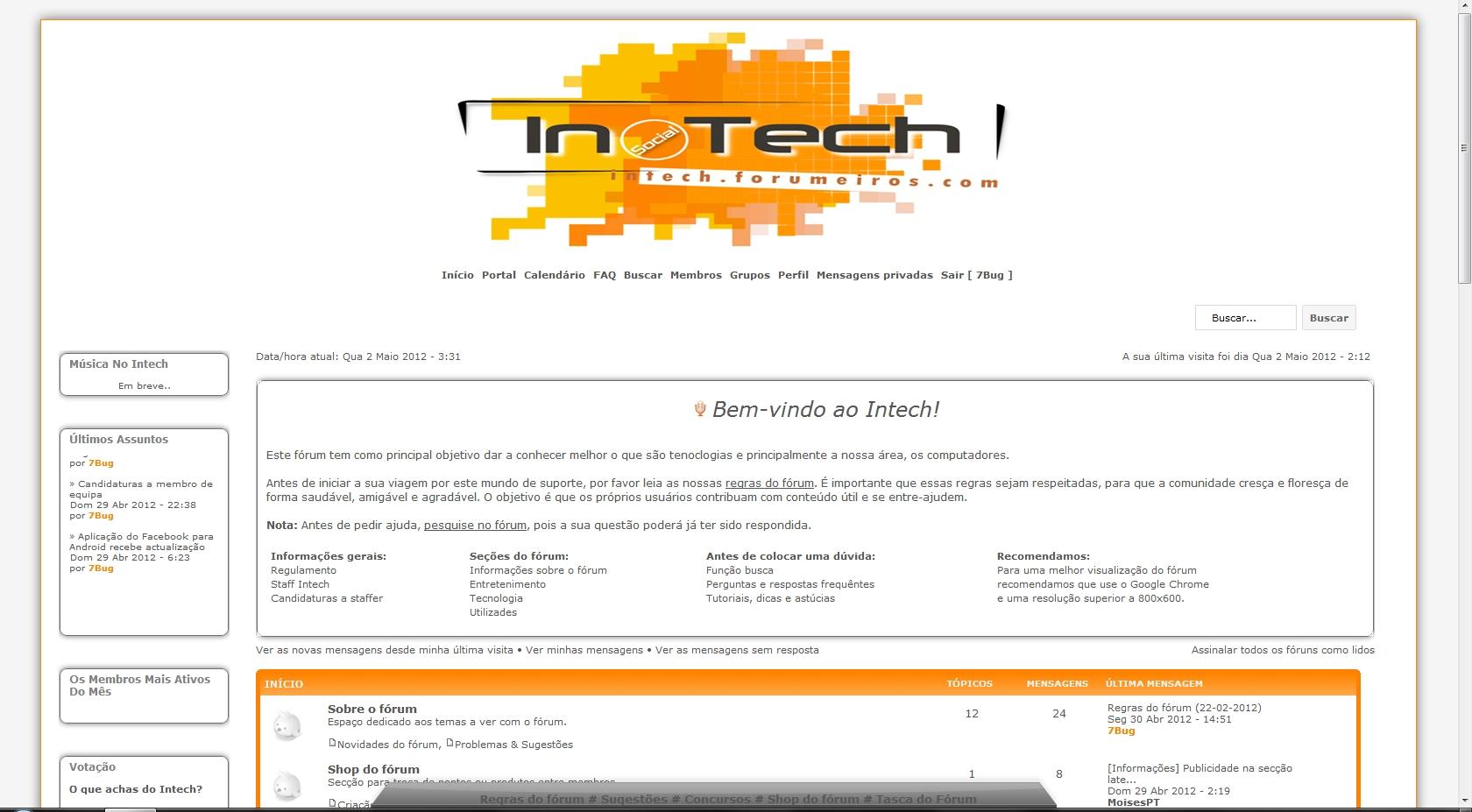 [Fórum] Intech Lnecats3l6