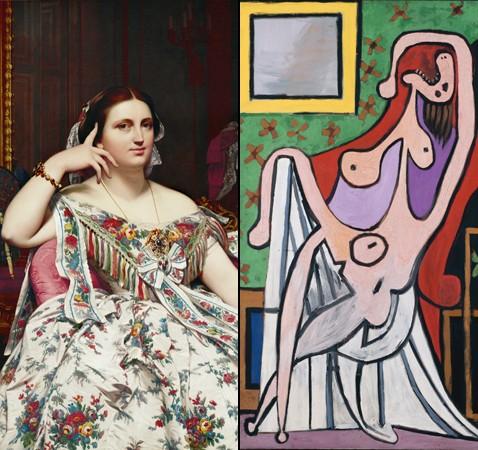 Ingres, un nouveau Picasso? en tout cas un érotomane 1460662046