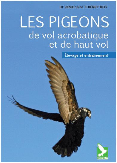 un livre sur les pigeons de vol acrobatique Couverture