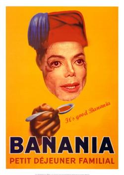 Obama Banania McCain Chaplin Bananiajackson