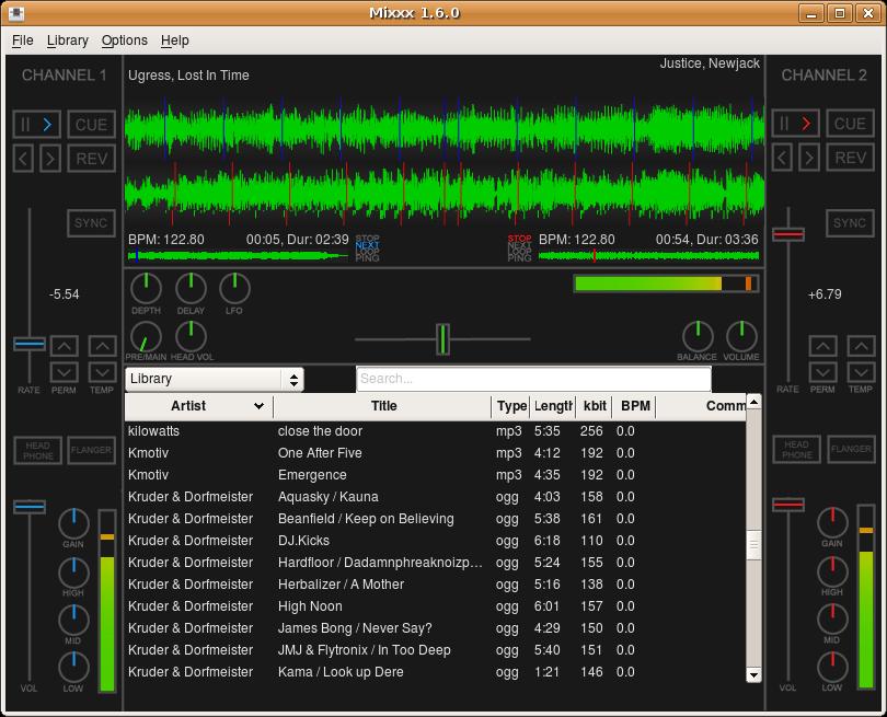 para - Programa para mezclas de musica Mixxx