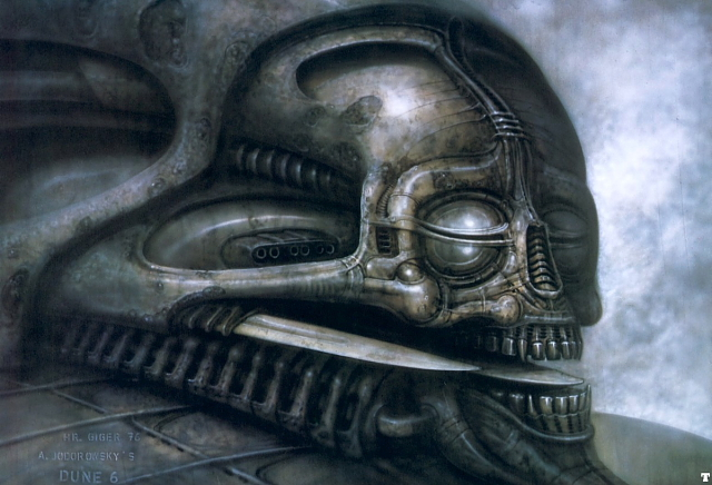 """Local Ork's Scratchbuild Extravaganza in """"Sculpting a lot more than usual"""" - Page 3 Giger_dune_3"""
