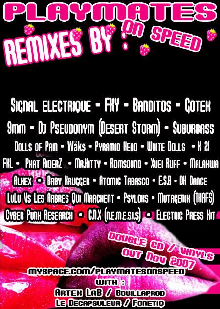 ELECTRIC PRESS KIT a remixé... Affiche