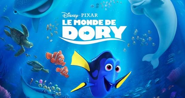 Vos dernières sorties ciné Affiche-francaise-le-monde-de-dory-05-620x330