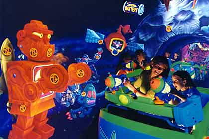 visite du Disney world magic Kingdom Spin