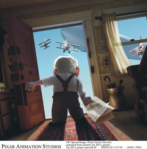 [Pixar] Là-Haut (2009) : topic de pré-sortie - Page 2 UP